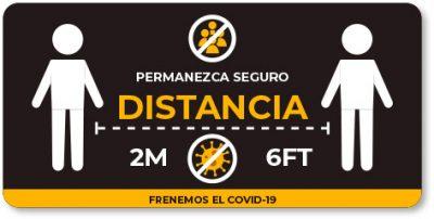 COVID-19 como mantener distancia para protegerse de la pandemia.